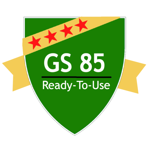 GS 85: Surface Dirt / Grime Remover